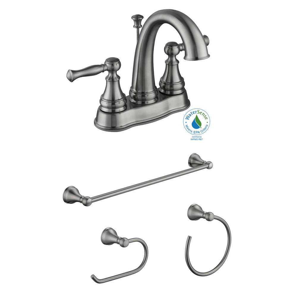 glacier bay kitchen faucet installation glacier bay fairway 4 in centerset 2 handle bathroom 23843