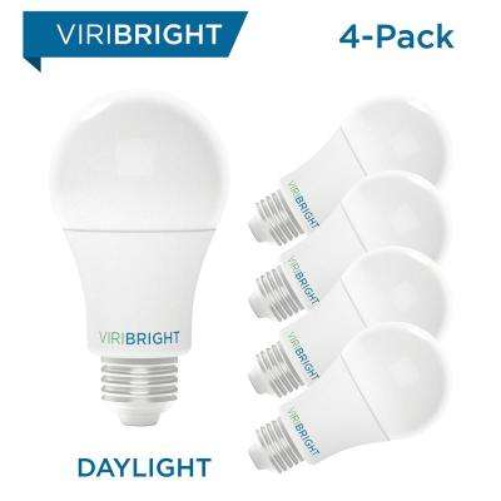 100-Watt Equivalent Soft White (2700K) A19 E26 Base LED Light Bulbs (4-Pack)