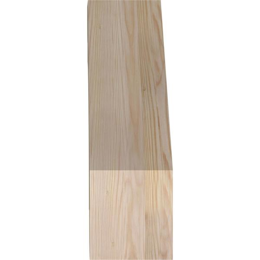 Ekena Millwork 6 In X 20 In X 20 In Douglas Fir Olympic Rough Sawn Brace Brc06x20x20oly00rdf The Home Depot
