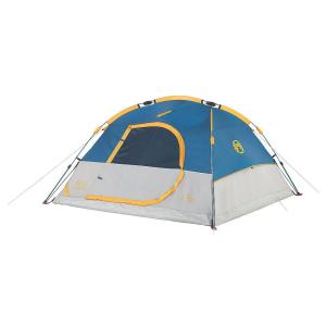 Click here to buy Coleman Flatiron 3-Person 7 ft. x 7 ft. Instant Dome Tent by Coleman.