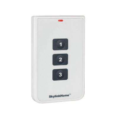 Wireless 3-Button Remote Transmitter