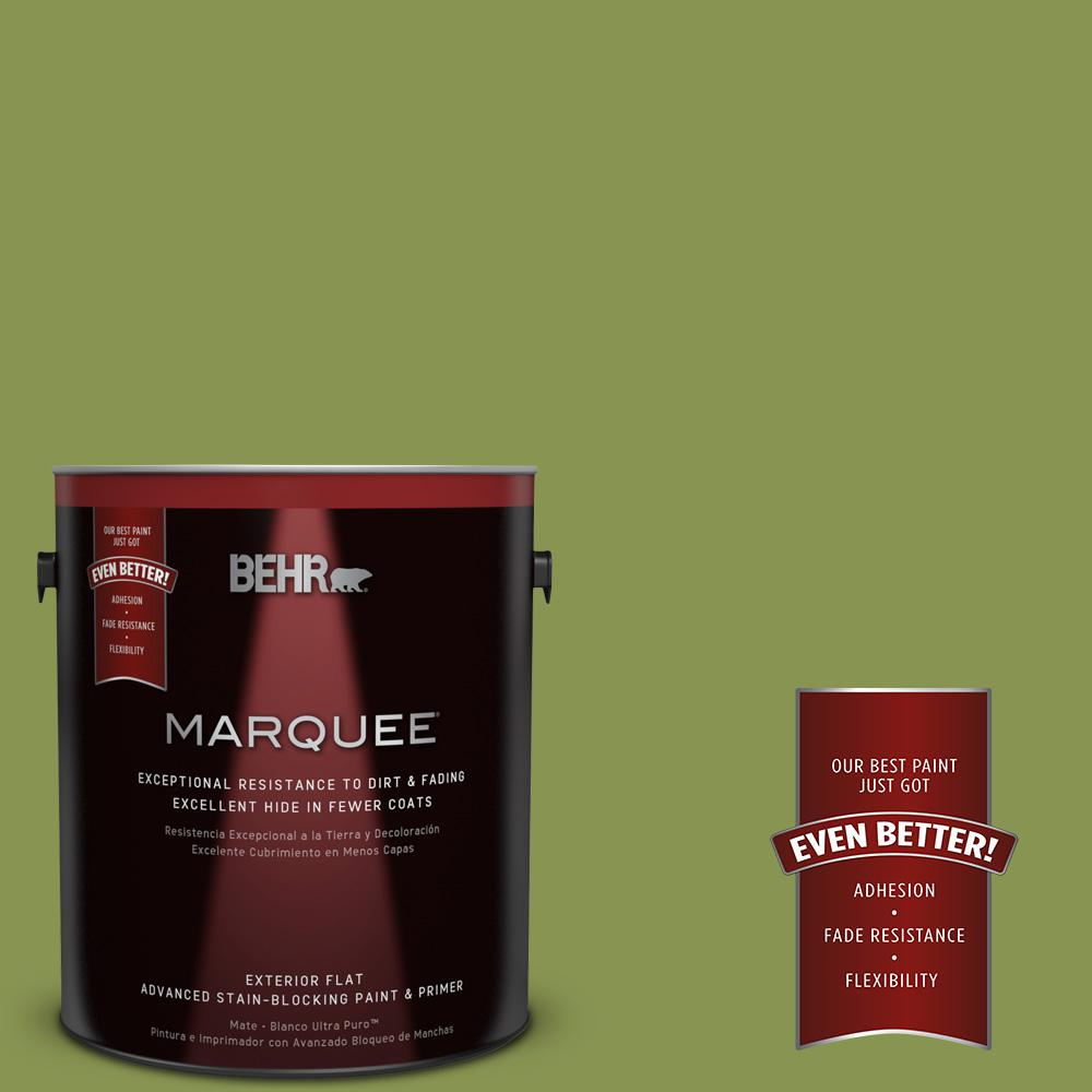 BEHR MARQUEE 1-gal. #M350-6 Frog Flat Exterior Paint