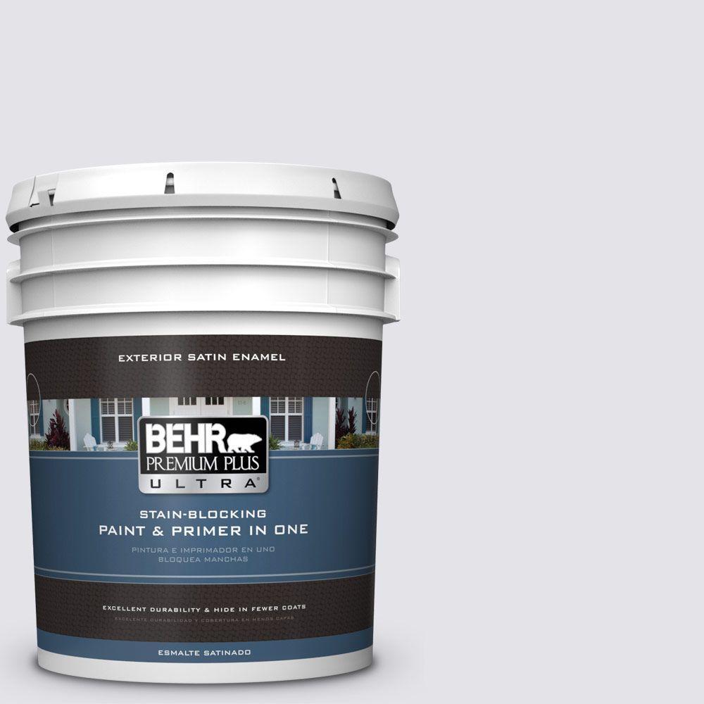 BEHR Premium Plus Ultra 5-gal. #ICC-34 Violet Essence Satin Enamel Exterior Paint