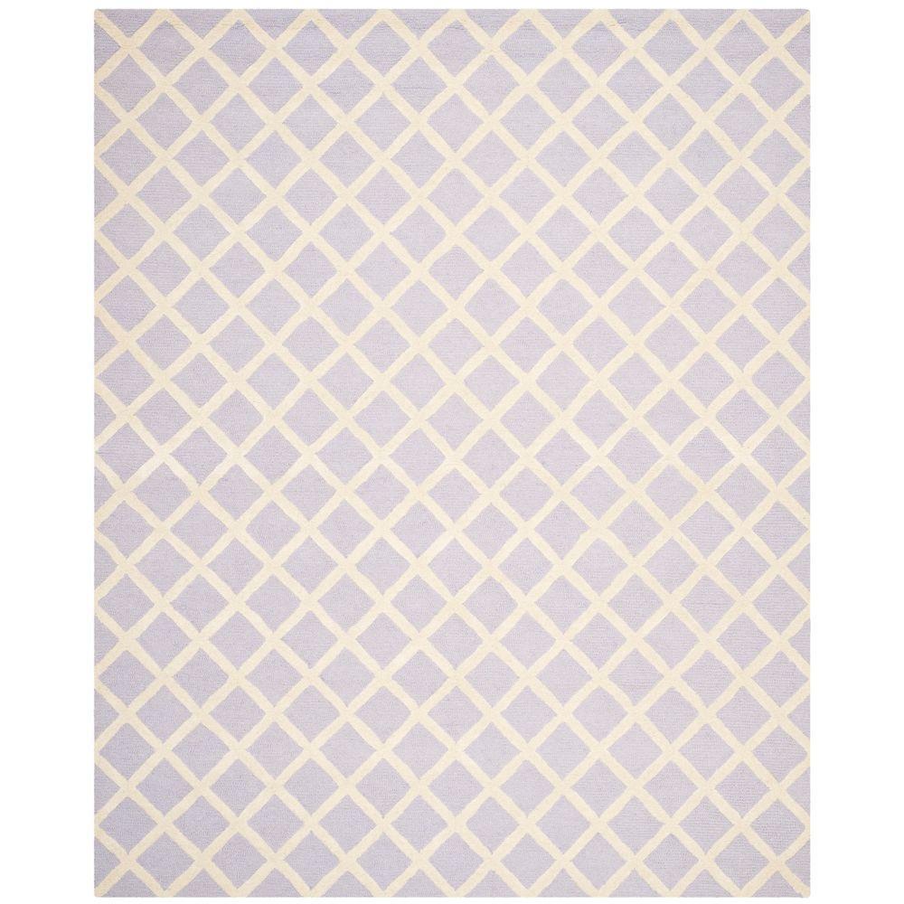 Safavieh Cambridge Lavender Ivory 8 Ft X 10 Ft Area Rug