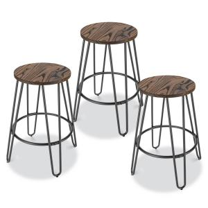 Remarkable Poly And Bark Kasey Walnut And Charcoal Grey Counter Stool Gmtry Best Dining Table And Chair Ideas Images Gmtryco