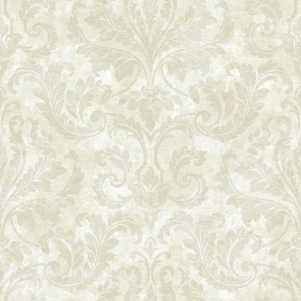 Brewster Autumn Breeze Lavender Faux Grasscloth Wallpaper ARB67542
