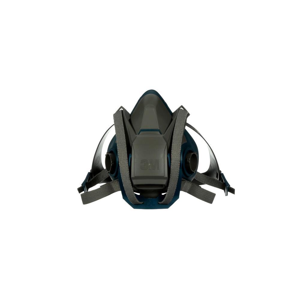 Large Rugged Comfort Quick Latch Half Facepiece Reusable Respirator (Case of 10)