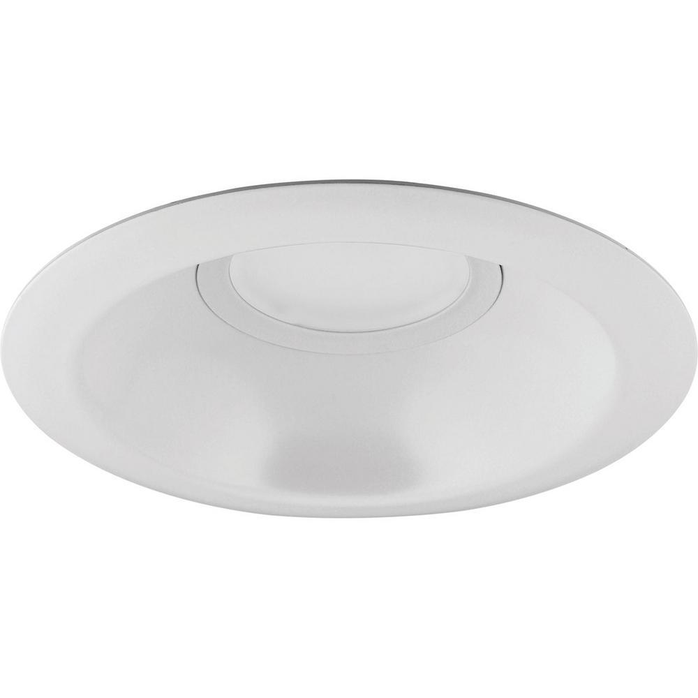 Progress Lighting 6 In. Satin White Integrated LED