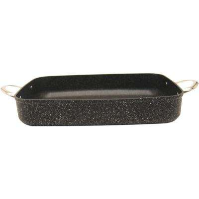 Rock Oven/Bakeware with Riveted Stainless Steel Handles