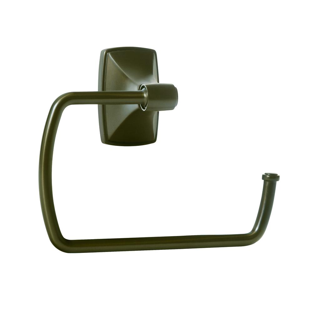 Clarendon Towel Ring in Caramel Bronze