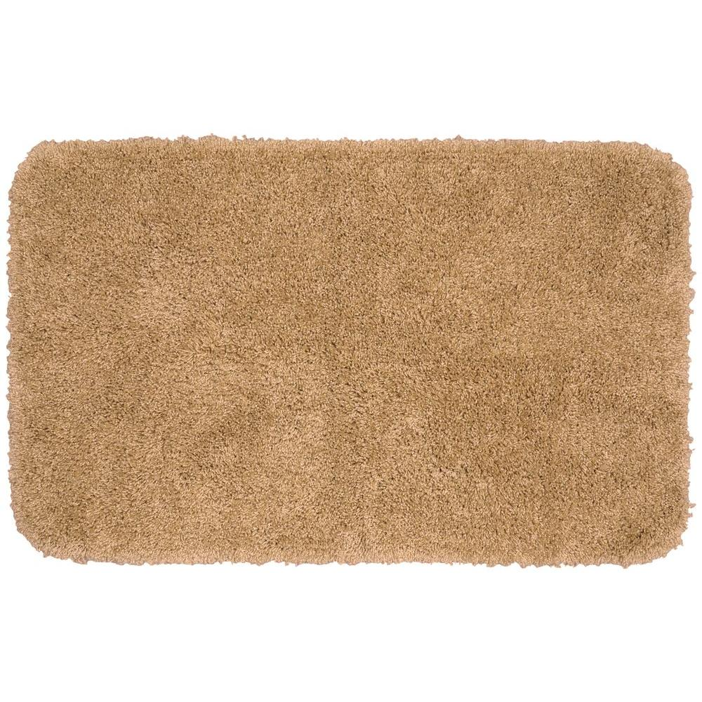 Garland Rug Serendipity Taupe 30 In X 50 Washable Bathroom Accent