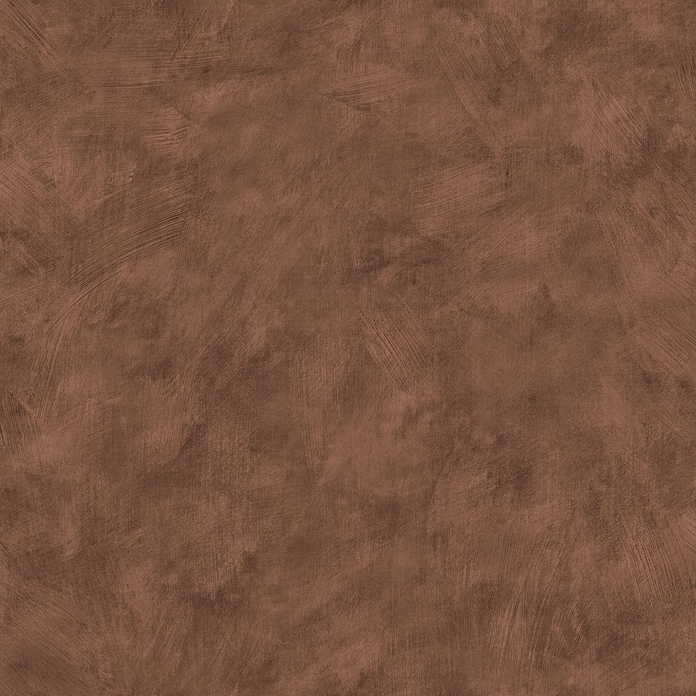 The Wallpaper Company 8 in. x 10 in. Brown Plaster Wallpaper Sample