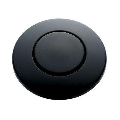 SinkTop Switch Push Button in Matte Black for InSinkErator Barbage Disposals