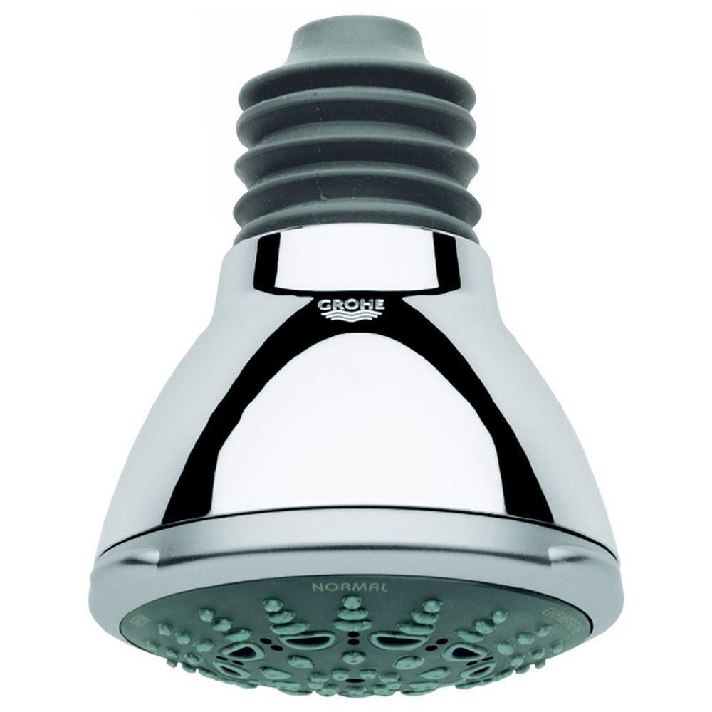 Movario 5-Spray 4 in. Showerhead in StarLight Chrome
