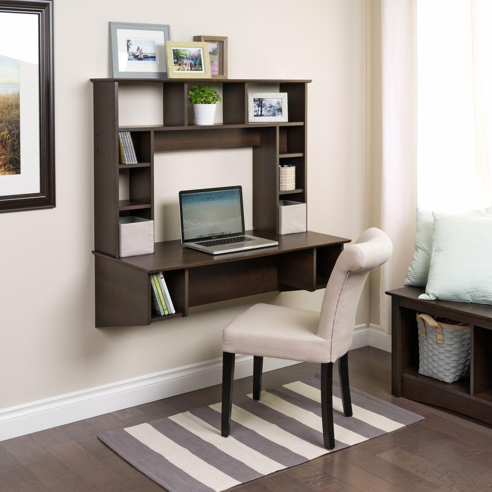 Sonoma Espresso Desk with Storage