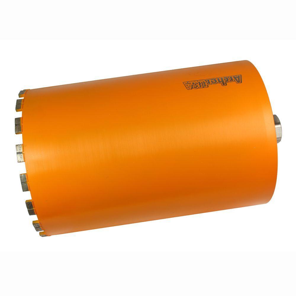 10 in. Diamond Turbo Core Drill Bit for Concrete Drilling
