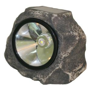 Smart Solar Solar Grey Rock Light by Smart Solar