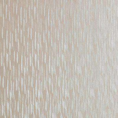 Cream Shimmer Silken Stria Wallpaper