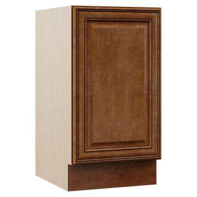 Oxford 18 in. W x 21.5 in. D x 33.5 in. H Bath Vanity Cabinet Only in Toasted Almond