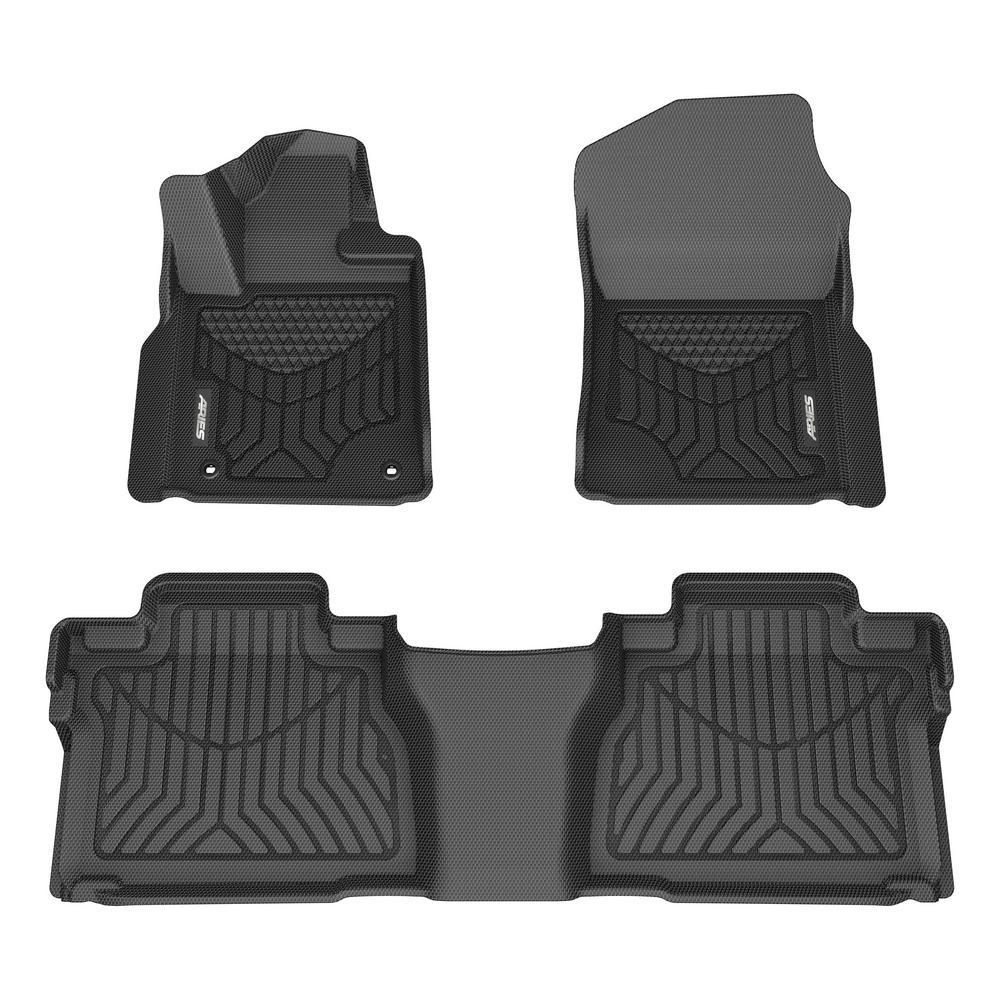 1st Row Only Select Mazda CX-3 ARIES MZ05111809 StyleGuard XD Black Custom Floor Liners