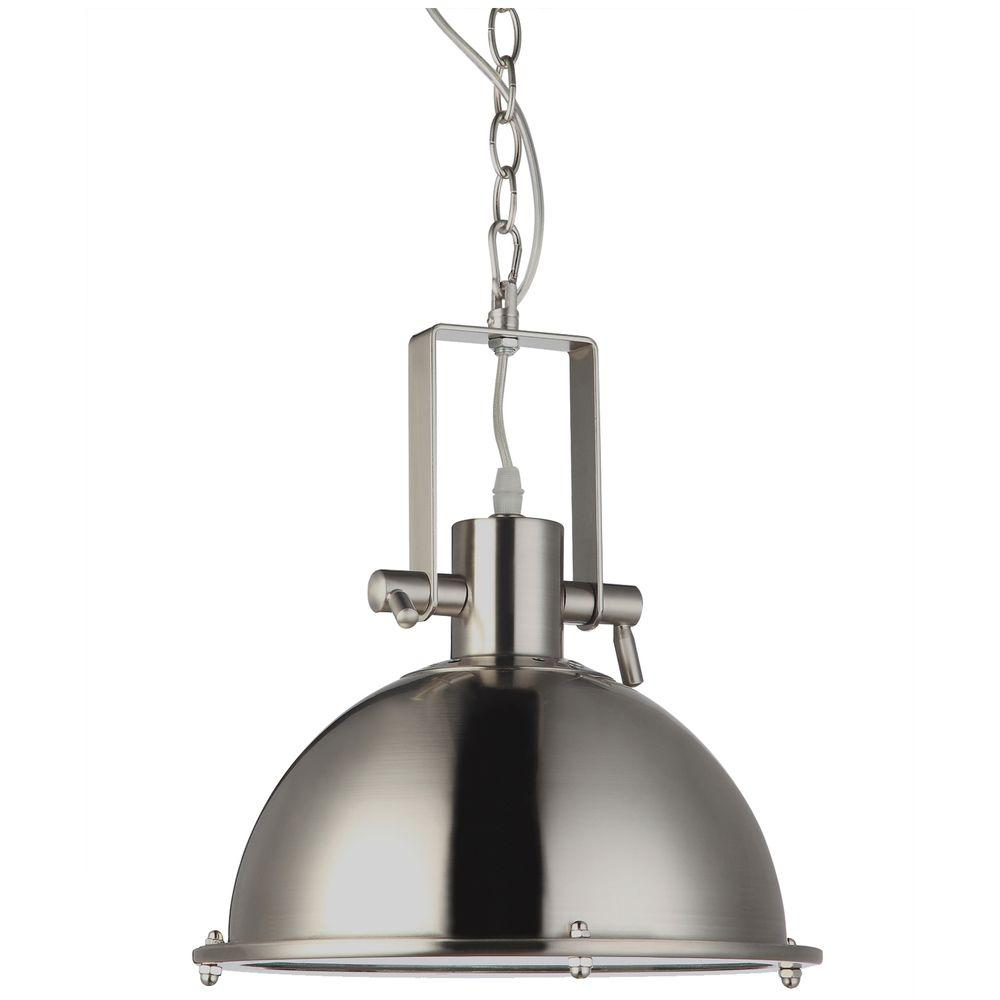 VONN Lighting Dorado 1-Light Satin Nickel LED Adjustable