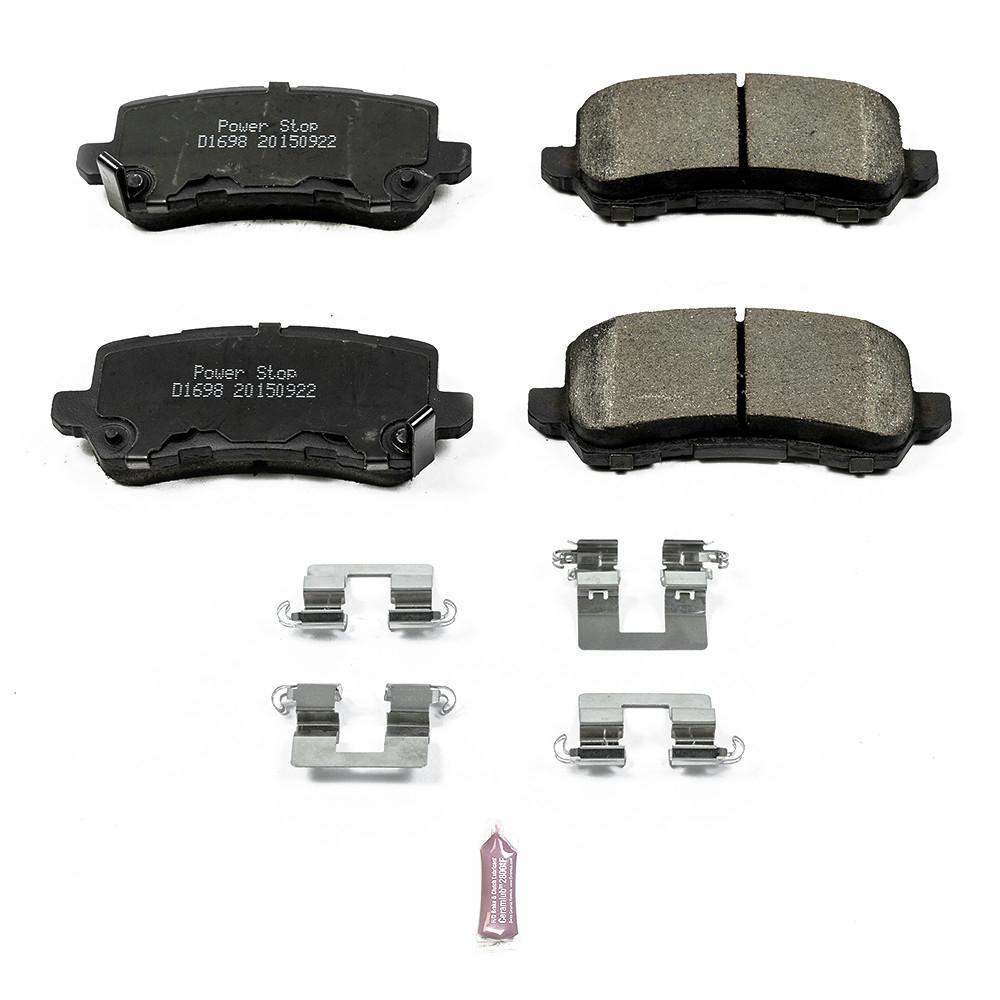 Power Stop 17-1698 Z17 Evolution Plus Ceramic Disc Brake Pad