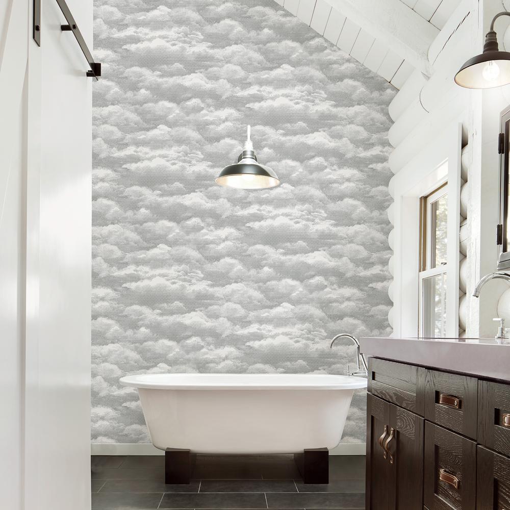 Solstice Opal Cloud Wallpaper
