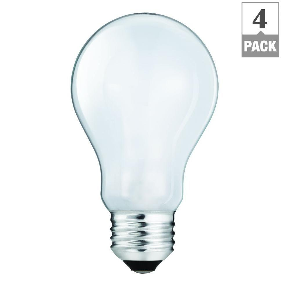 EcoSmart 60 Watt Equivalent A19 Halogen Light Bulb Soft