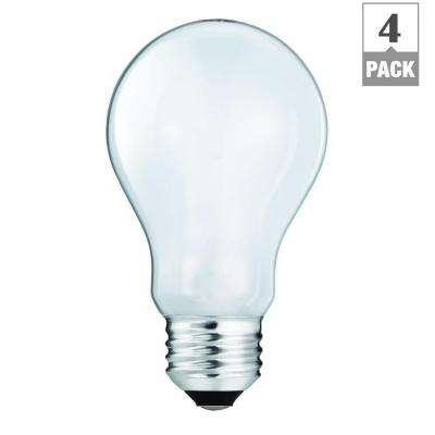 60-Watt Equivalent A19 Household Light Bulb (4-Pack)