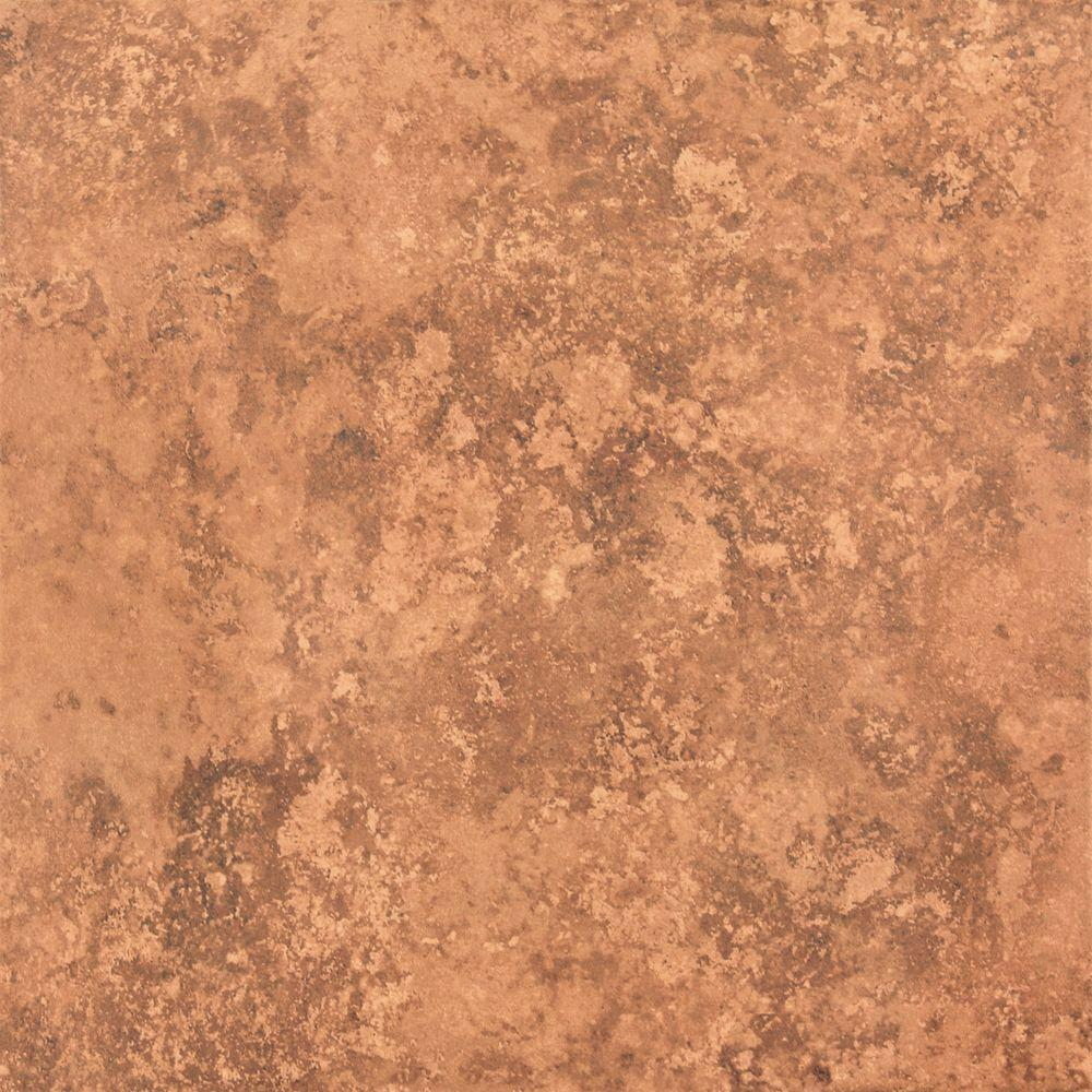 TrafficMASTER Red Earth 18 in. x 18 in. Ceramic Floor and Wall Tile (21.85 sq. ft. / case)
