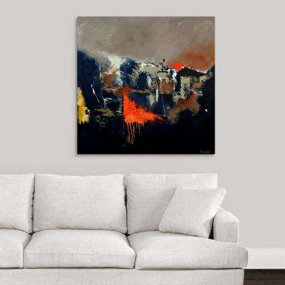 """Orange Signal"" by Pol Ledent Canvas Wall Art"