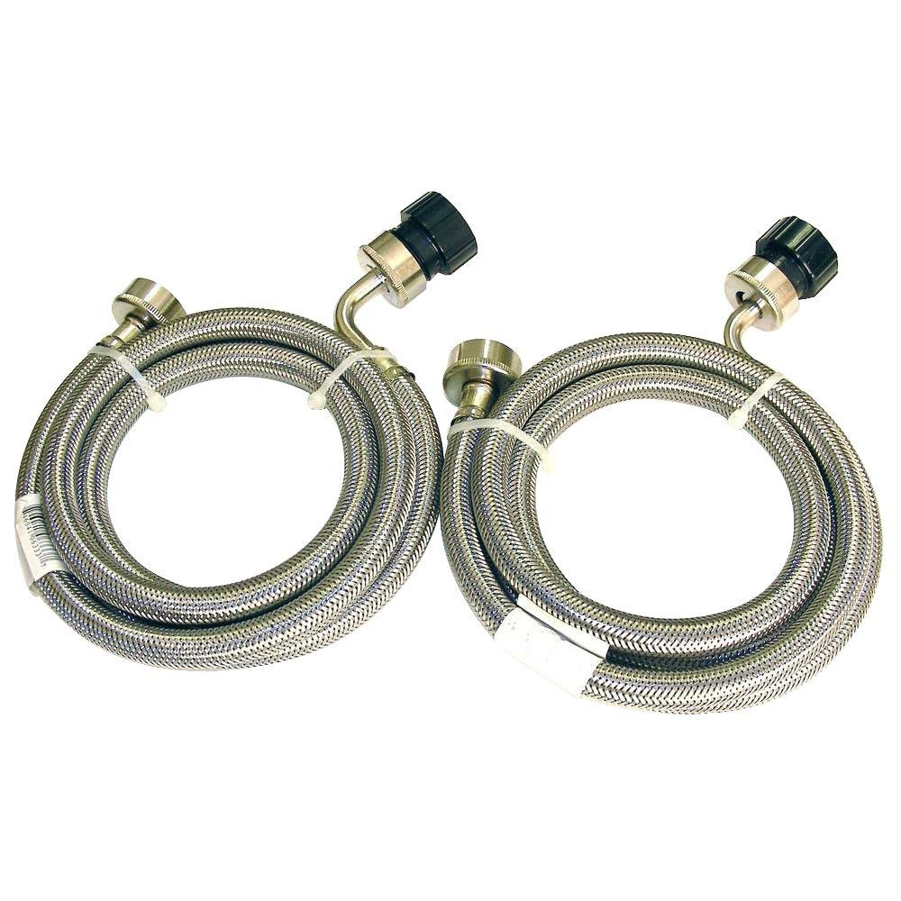 Equator 5 ft. Stainless Steel Hoses