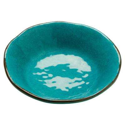 10 oz. Ocean Blue Veranda Melamine Bowls (Set of 4)