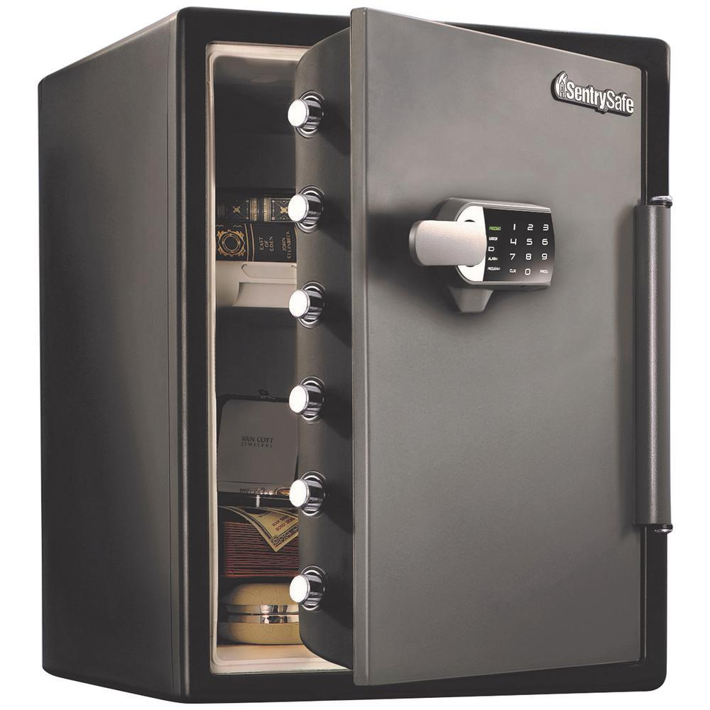 SentrySafe SFW205TWC 2 0 cu ft Fireproof Safe and Waterproof Safe with  Touchscreen Keypad