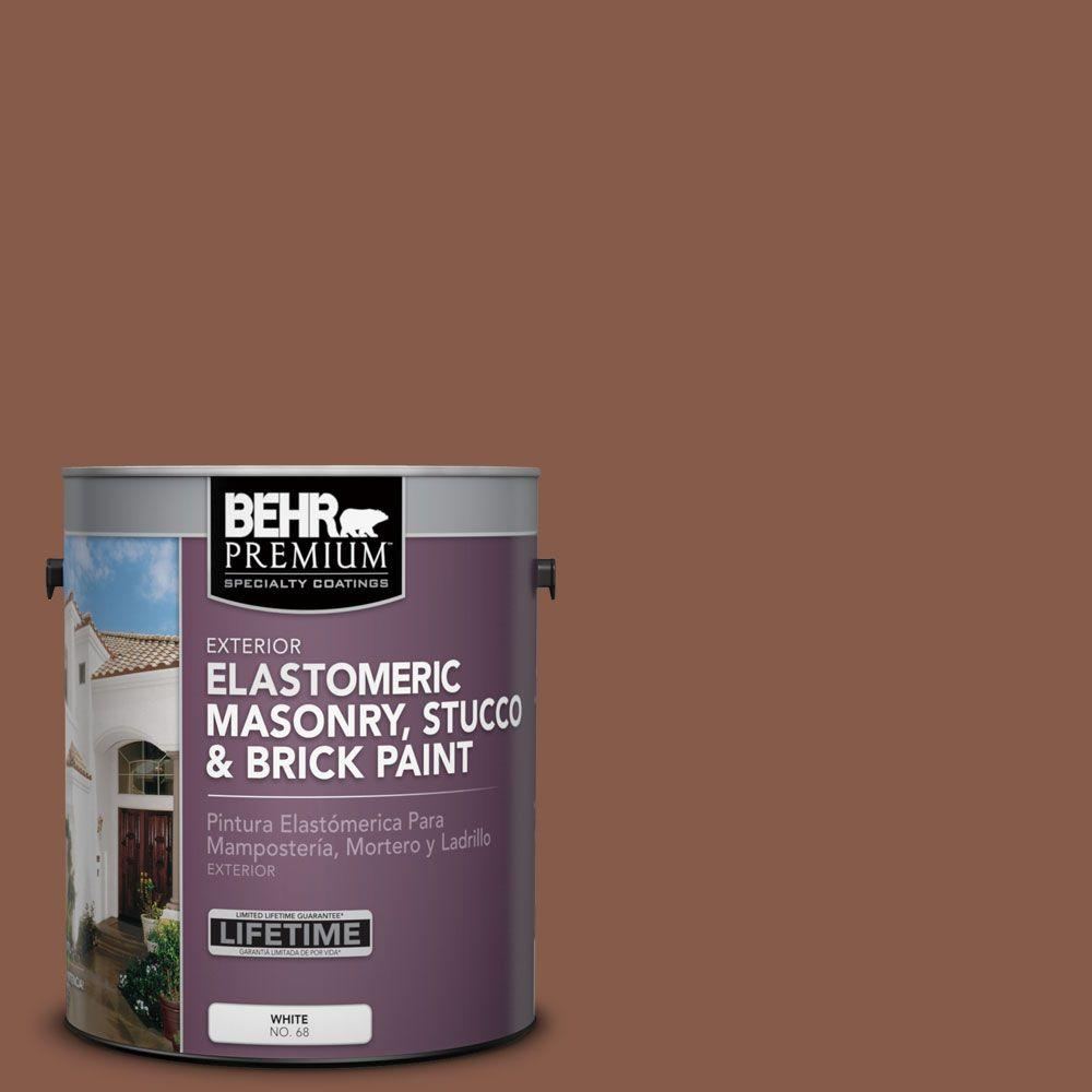 1 gal. #MS-05 Madera Elastomeric Masonry, Stucco and Brick Exterior Paint