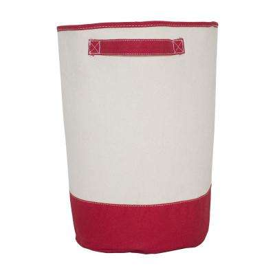 Red Fabric Hamper Storage