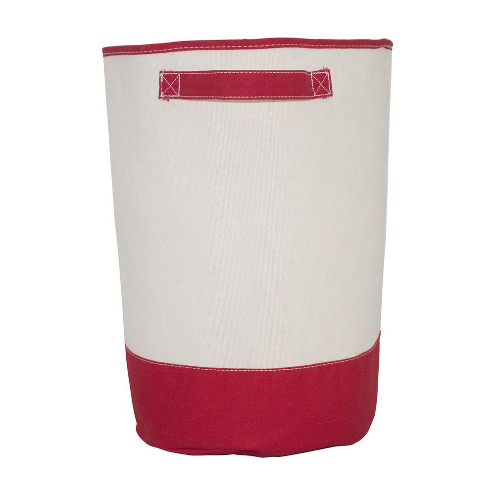 Red Fabric Hamper Storage