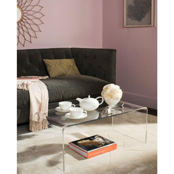 Safavieh Atka Clear Coffee Table