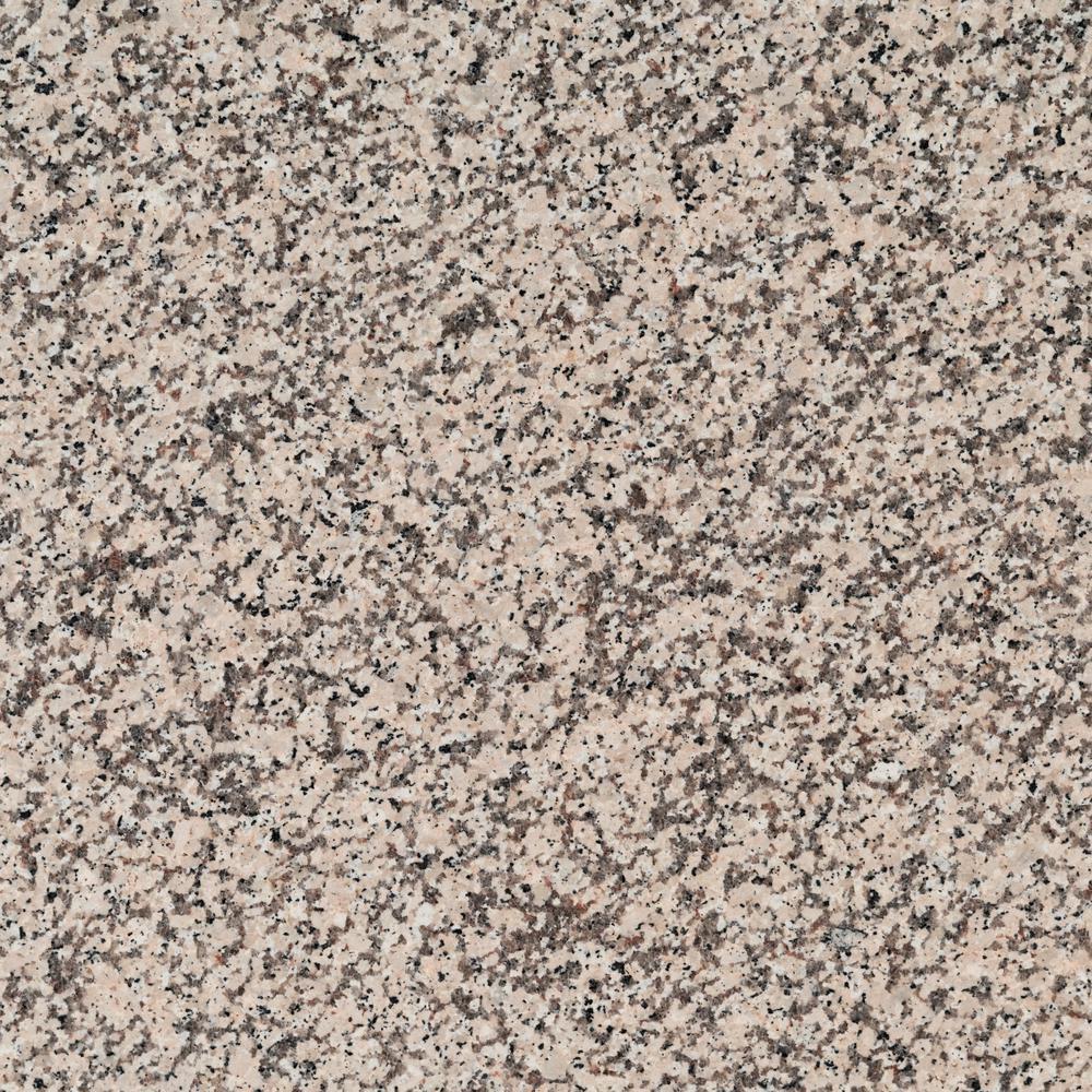 3 in. x 3 in. Granite Countertop Sample in Crema Caramel