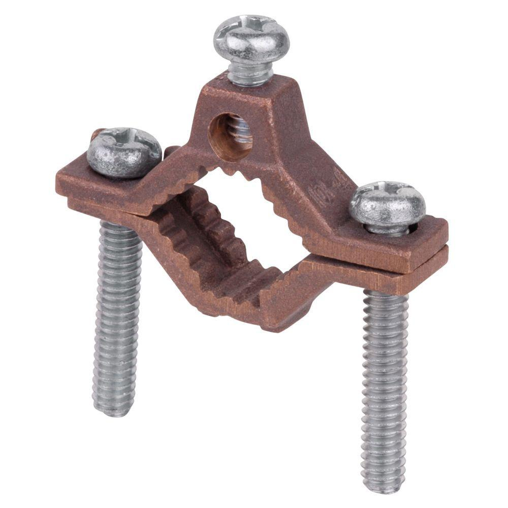 Bronze Ground Clamp 1/2 - 1 in. (Case of 25)