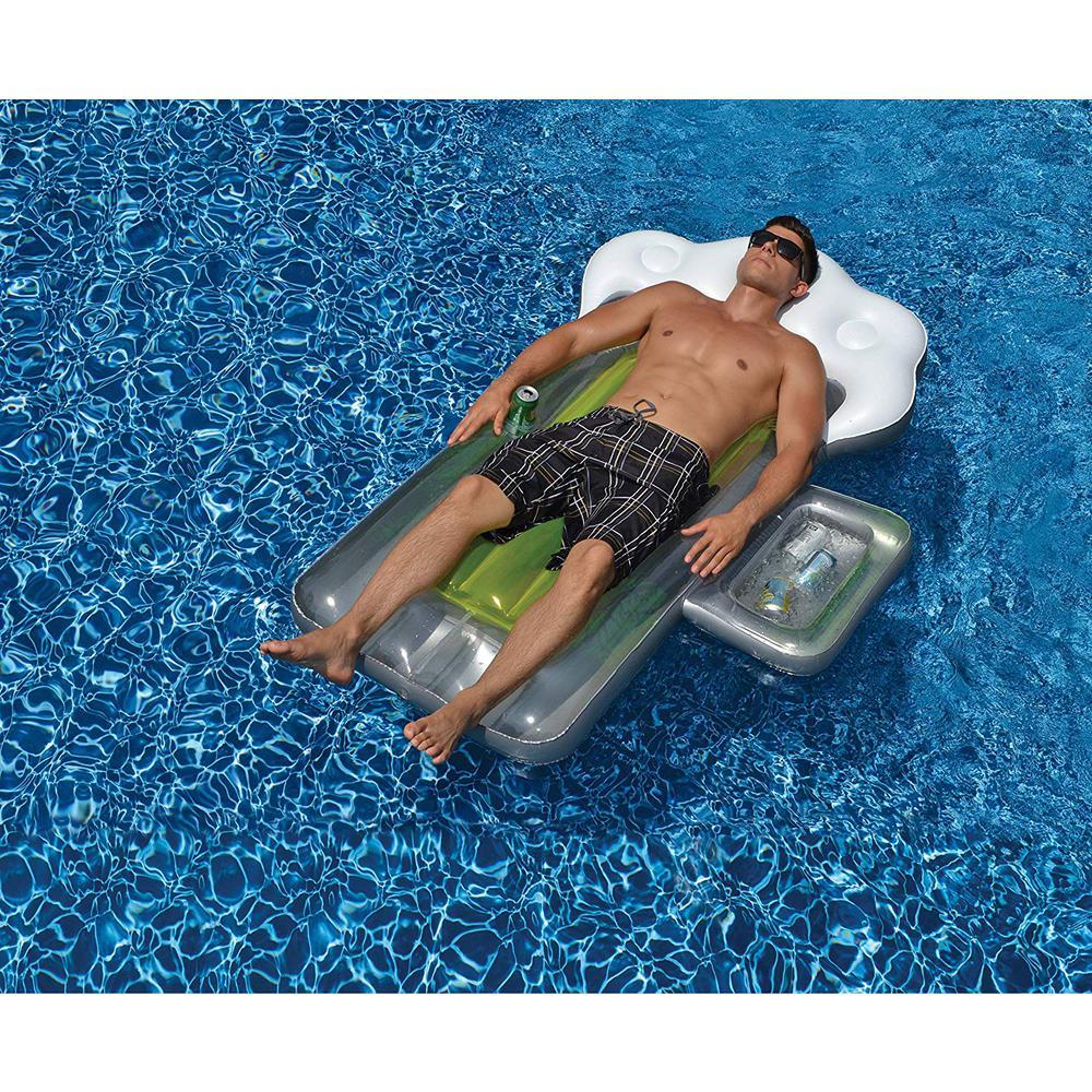 6 Pack Swimline Giant Inflatable Beer Mug Swimming Pool or Lake Ride On Float