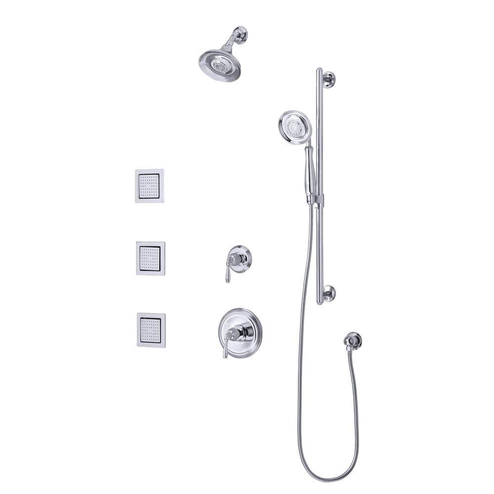 KOHLER Devonshire Luxury Performance Polished-Chrome Shower System-DISCONTINUED