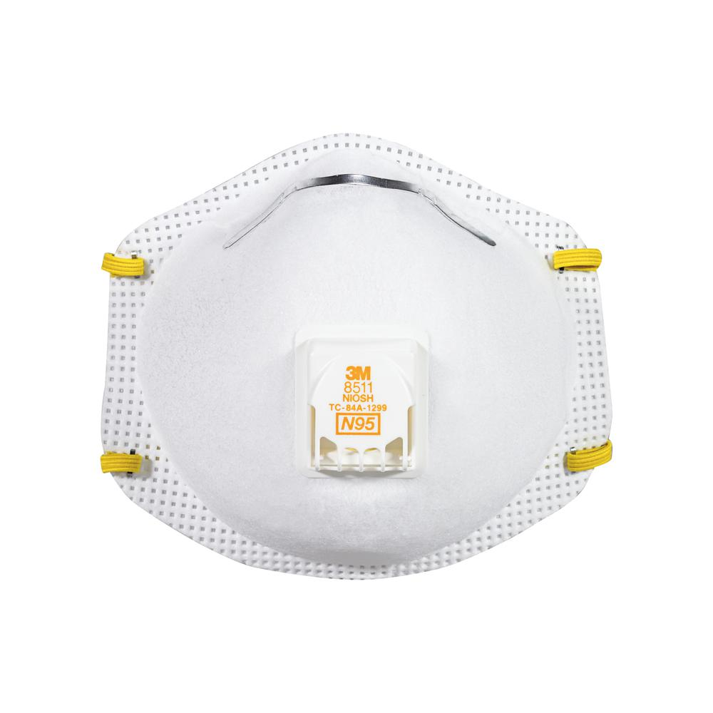 a315c2c2efb57 3M Sanding and Fiberglass Valved Respirator (Case of 12)-8511HA1-C ...