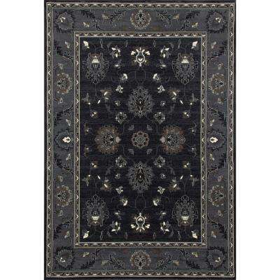 Maison Simply Open Gray 8 ft. x 12 ft. Area Rug