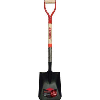 30 in. Wood D-Handle Transfer Shovel