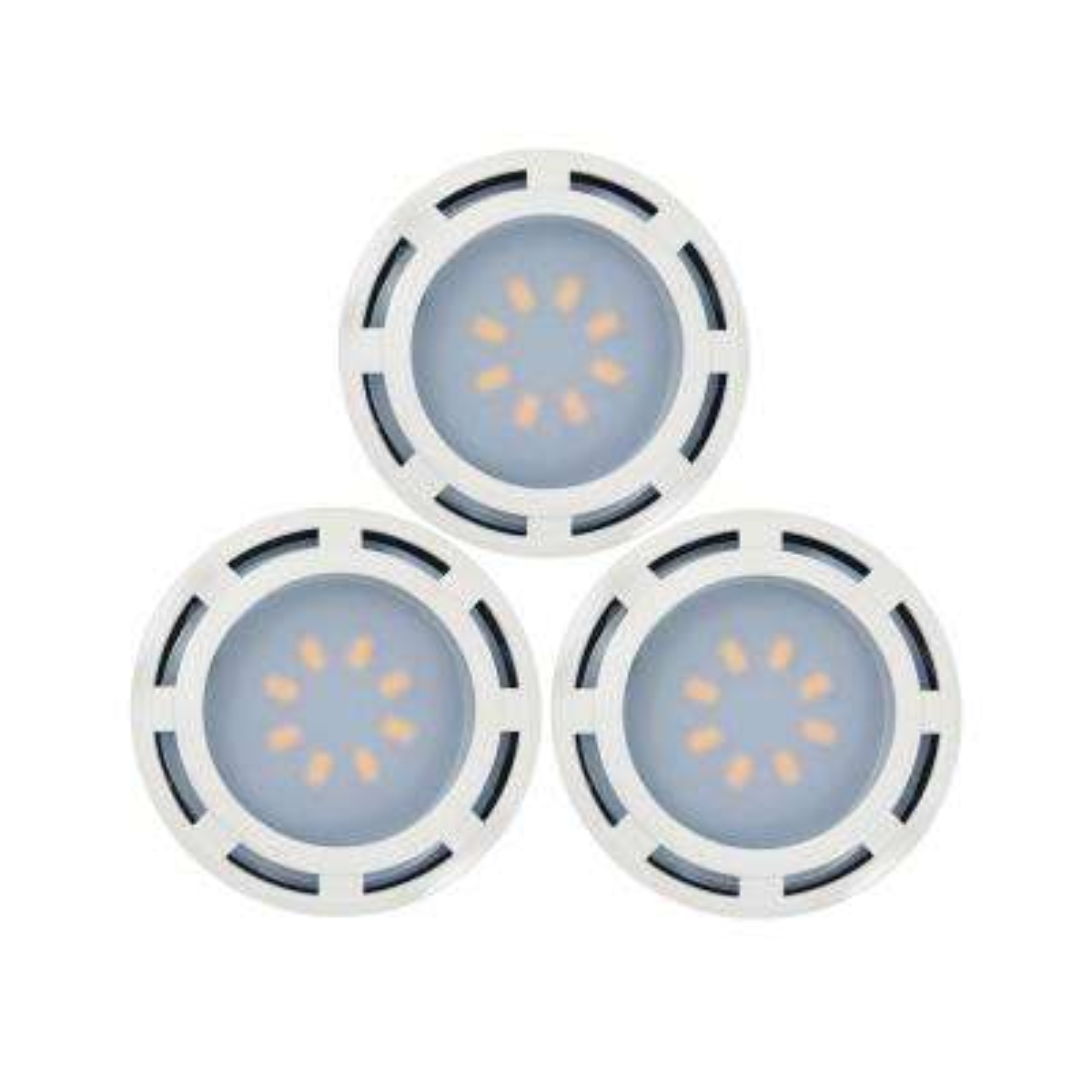 4.6 in. LED White Puck Light (3-Pack)