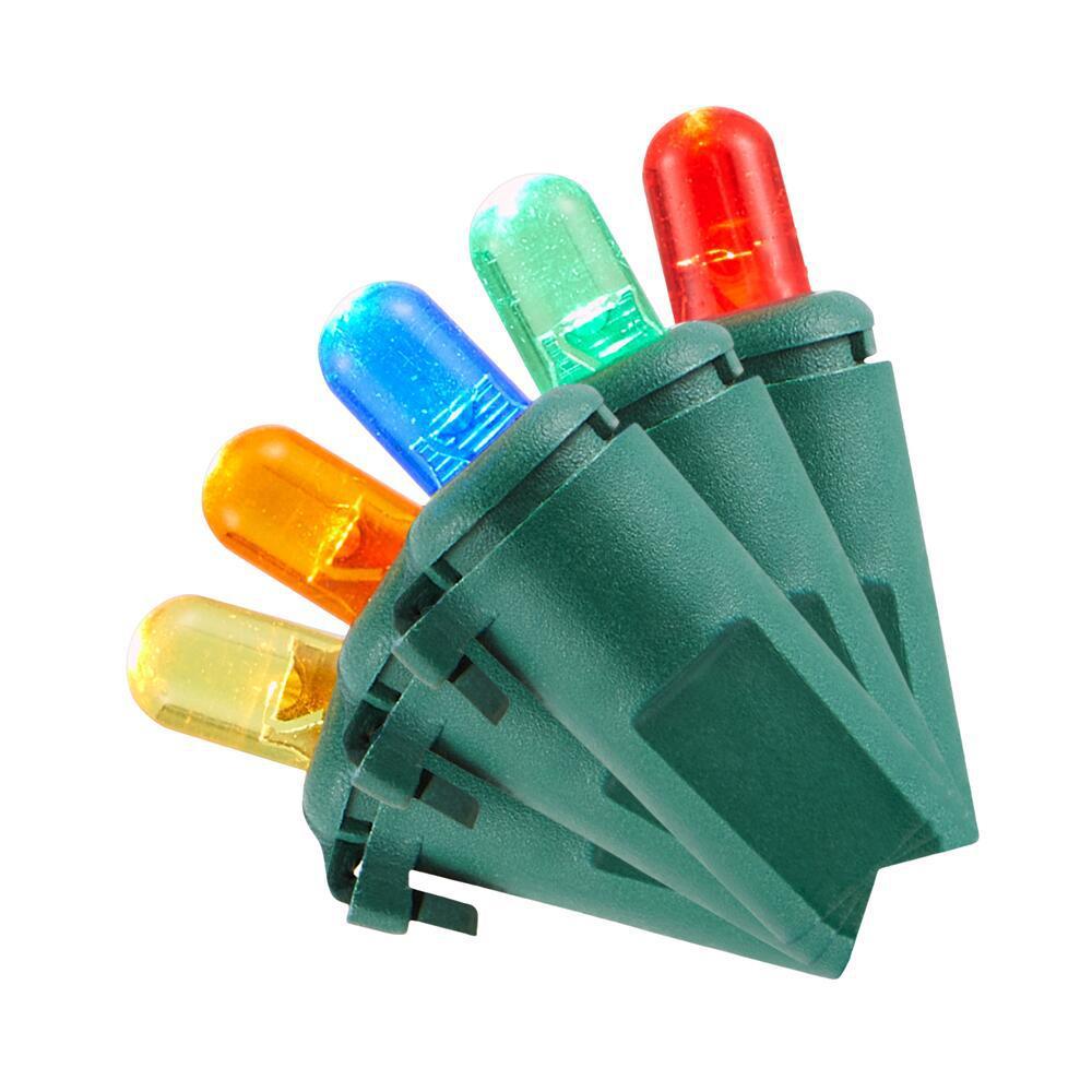 100-Light multicolor LED Dome Light String