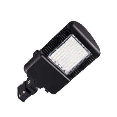 S-Series 150-Watt Silver Integrated LED Outdoor Street Area Light 5000K with Photocell