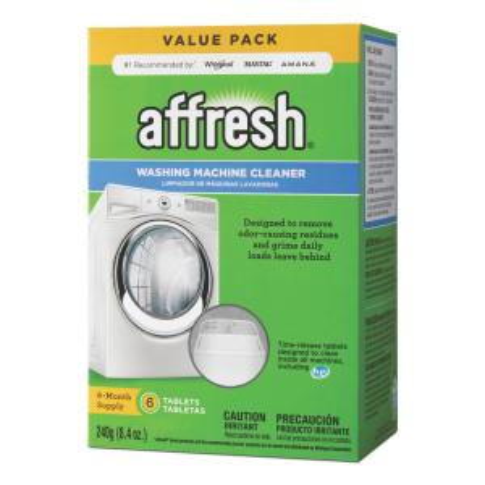 Affresh 8 4 Oz Washer Cleaner 6 Pack W10501250 The