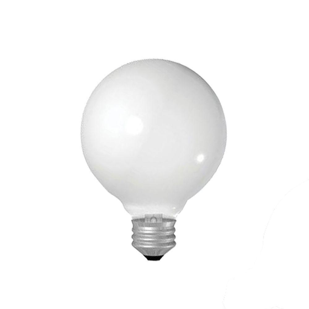 GE 40-Watt Incandescent G25 Globe Light Bulb (4-Pack)
